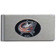 Columbus Blue Jackets® Brushed Metal Money Clip