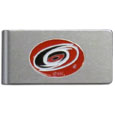 Carolina Hurricanes® Brushed Metal Money Clip