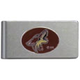 Arizona Coyotes® Brushed Metal Money Clip
