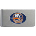 New York Islanders® Brushed Metal Money Clip