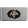 Florida Panthers® Brushed Metal Money Clip