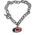 Carolina Hurricanes® Charm Chain Bracelet