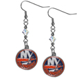 New York Islanders® Crystal Dangle Earrings