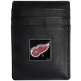 Detroit Red Wings® Leather Money Clip/Cardholder