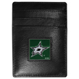 Dallas Stars™ Leather Money Clip/Cardholder
