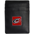 Carolina Hurricanes® Leather Money Clip/Cardholder
