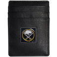 Buffalo Sabres® Leather Money Clip/Cardholder