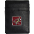 Arizona Coyotes® Leather Money Clip/Cardholder