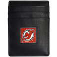 New Jersey Devils® Leather Money Clip/Cardholder