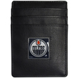 Edmonton Oilers® Leather Money Clip/Cardholder