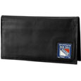 New York Rangers® Deluxe Leather Checkbook Cover