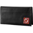New Jersey Devils® Deluxe Leather Checkbook Cover