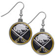 Buffalo Sabres® Chrome Dangle Earrings