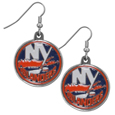 New York Islanders® Chrome Dangle Earrings