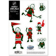 Minnesota Wild® Family Decal Set Small