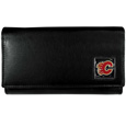 Calgary Flames® Leather Women's Wallet