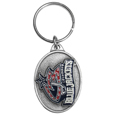 Columbus Blue Jackets® Carved Metal Key Chain