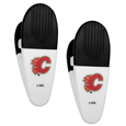 Calgary Flames® Mini Chip Clip Magnets, 2 pk