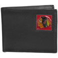 Chicago Blackhawks® Leather Bi-fold Wallet