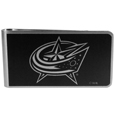 Columbus Blue Jackets® Black and Steel Money Clip