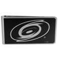 Carolina Hurricanes® Black and Steel Money Clip