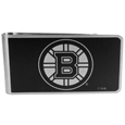 Boston Bruins® Black and Steel Money Clip