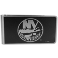 New York Islanders® Black and Steel Money Clip