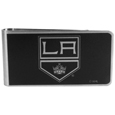 Los Angeles Kings® Black and Steel Money Clip