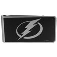 Tampa Bay Lightning® Black and Steel Money Clip