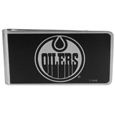 Edmonton Oilers® Black and Steel Money Clip