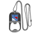 New York Rangers® Bottle Opener Tag Necklace