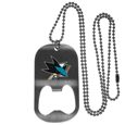 San Jose Sharks® Bottle Opener Tag Necklace