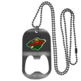 Minnesota Wild® Bottle Opener Tag Necklace