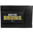 Boston Bruins® Logo Leather Cash and Cardholder