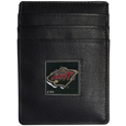 Minnesota Wild® Leather Money Clip/Cardholder