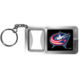 Columbus Blue Jackets® Flashlight Key Chain with Bottle Opener