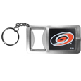 Carolina Hurricanes® Flashlight Key Chain with Bottle Opener
