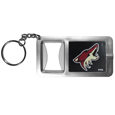 Arizona Coyotes® Flashlight Key Chain with Bottle Opener