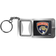 Florida Panthers® Flashlight Key Chain with Bottle Opener