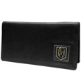 Vegas Golden Knights® Leather Checkbook Cover