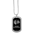 Chicago Blackhawks® Chrome Tag Necklace