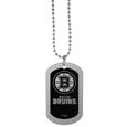 Boston Bruins® Chrome Tag Necklace