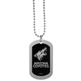 Arizona Coyotes® Chrome Tag Necklace