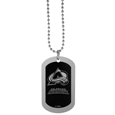 Colorado Avalanche® Chrome Tag Necklace