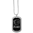 Calgary Flames® Chrome Tag Necklace