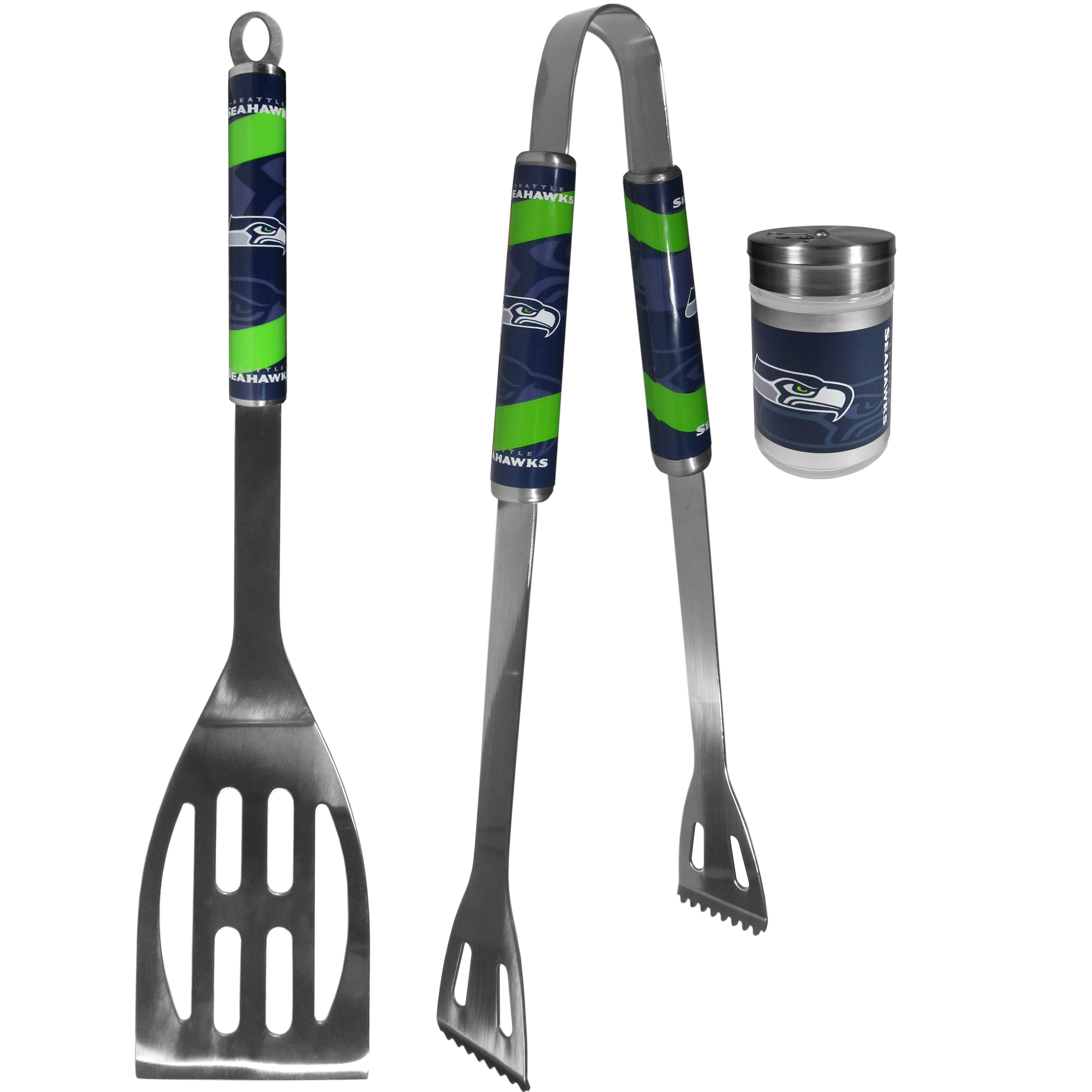 BBQ Tools with Season Shakers